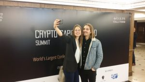 CHRG Network @Crypto capital world summit 2018